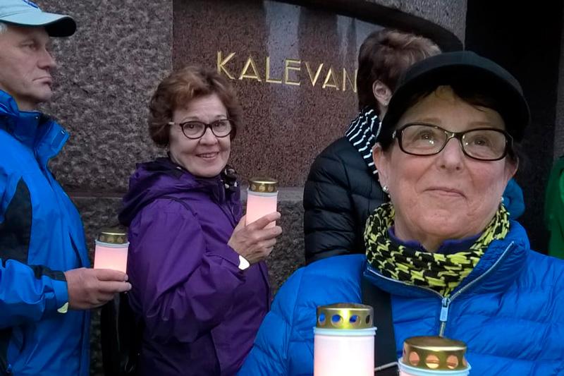 Pirkanmaan K-seniorit Kalevankankaan kierroksella 30.8.2017