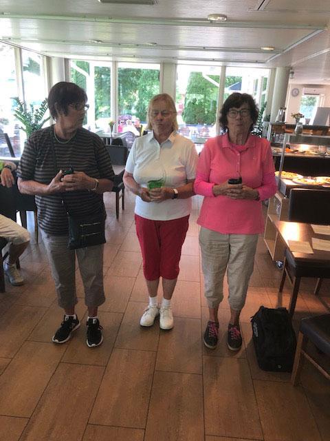 ES K-seniorit golf 2020 naisten sarjan 3 parasta
