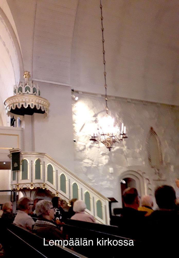 Lempäälän kirkossa