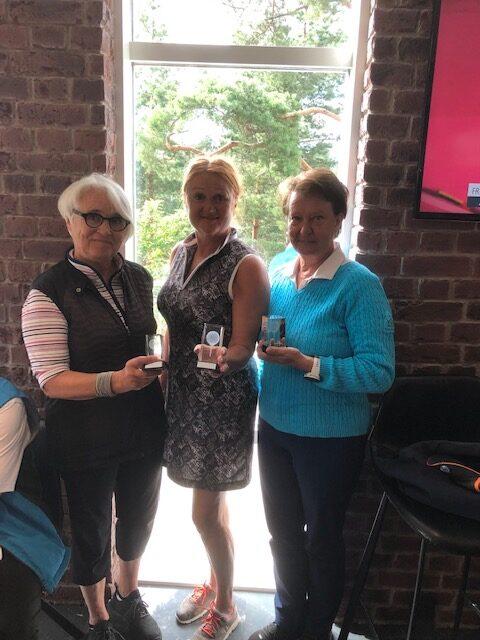 Etelä-Suomen K-seniorigolf 2021 naiset